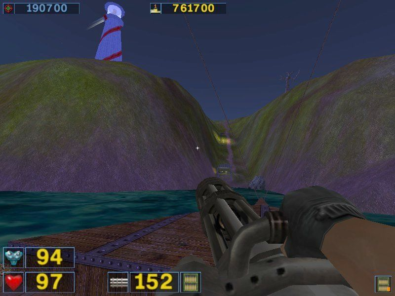 "Serious Sam: Gold Windows ... and ""Dark Island"", a mini-adventure for use with the second encounter."