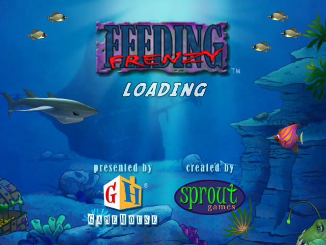 Feeding Frenzy Windows Loading Screen