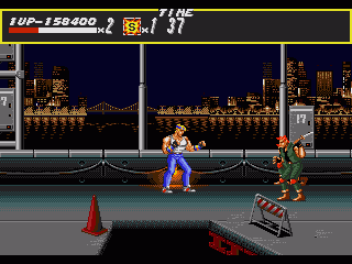 Streets of Rage Genesis Stage 4