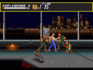Streets of Rage Genesis Things are getting though, arent they?