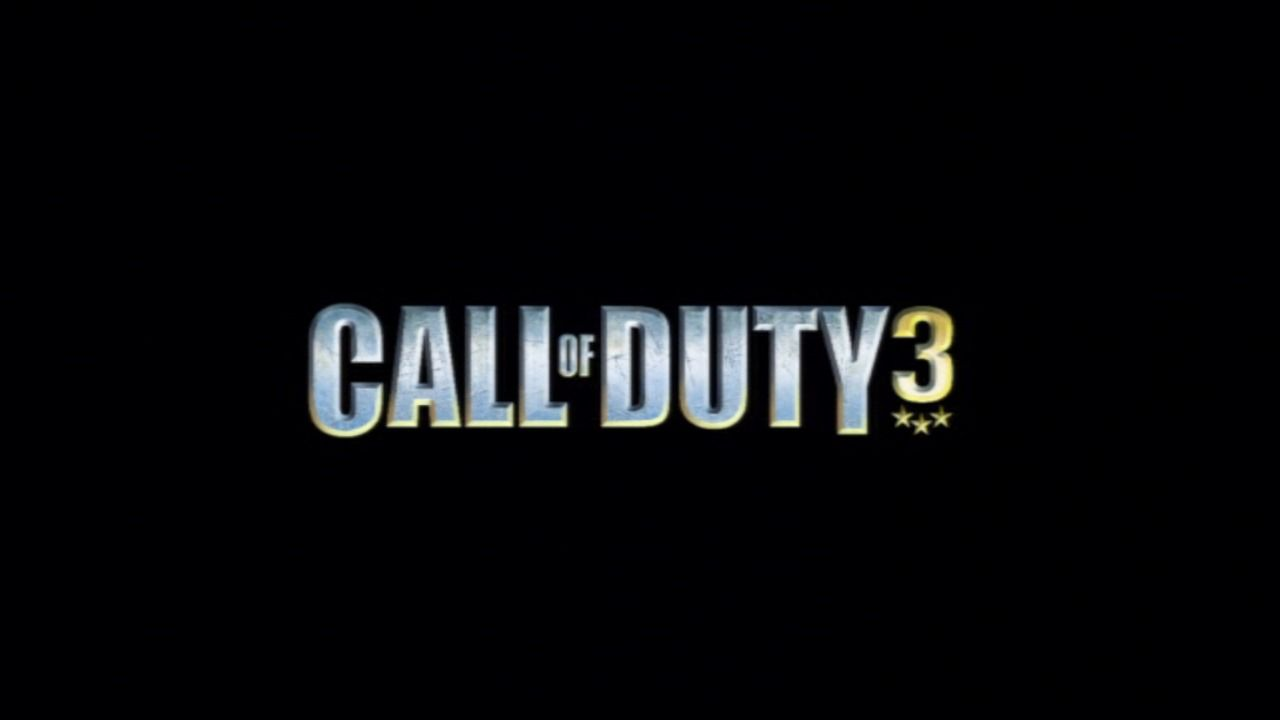Call of Duty 3 PlayStation 3 Main title