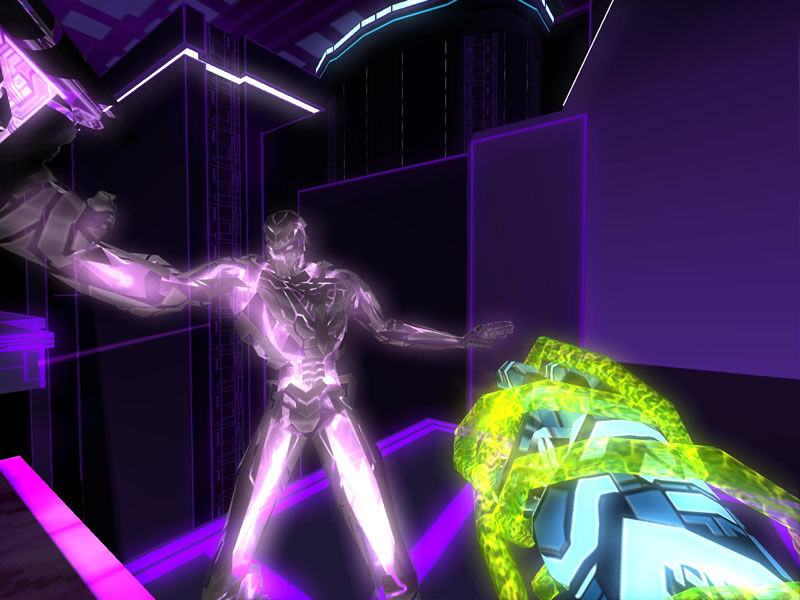 TRON 2.0 Windows Stunning lighting-effects