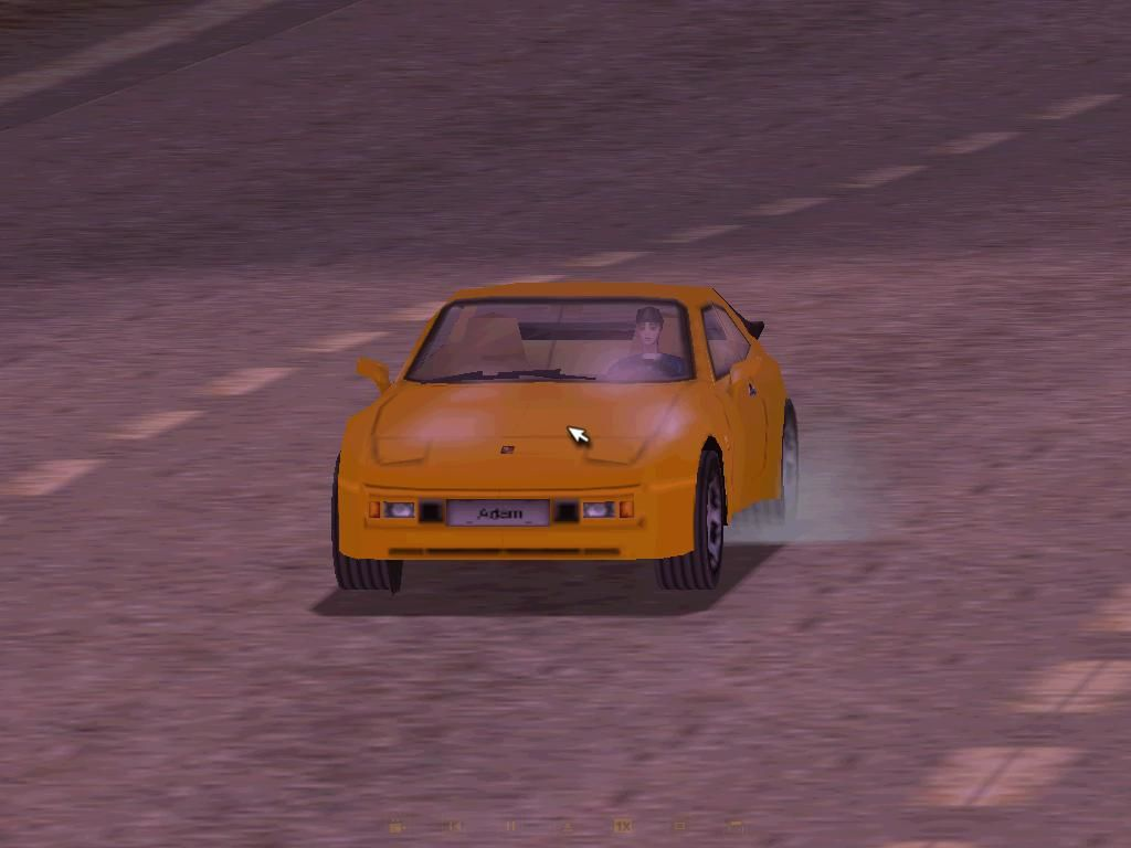 Need for Speed: Porsche Unleashed Windows Replay: Taking off with the 1982 944 Coupe, successor of the 924.