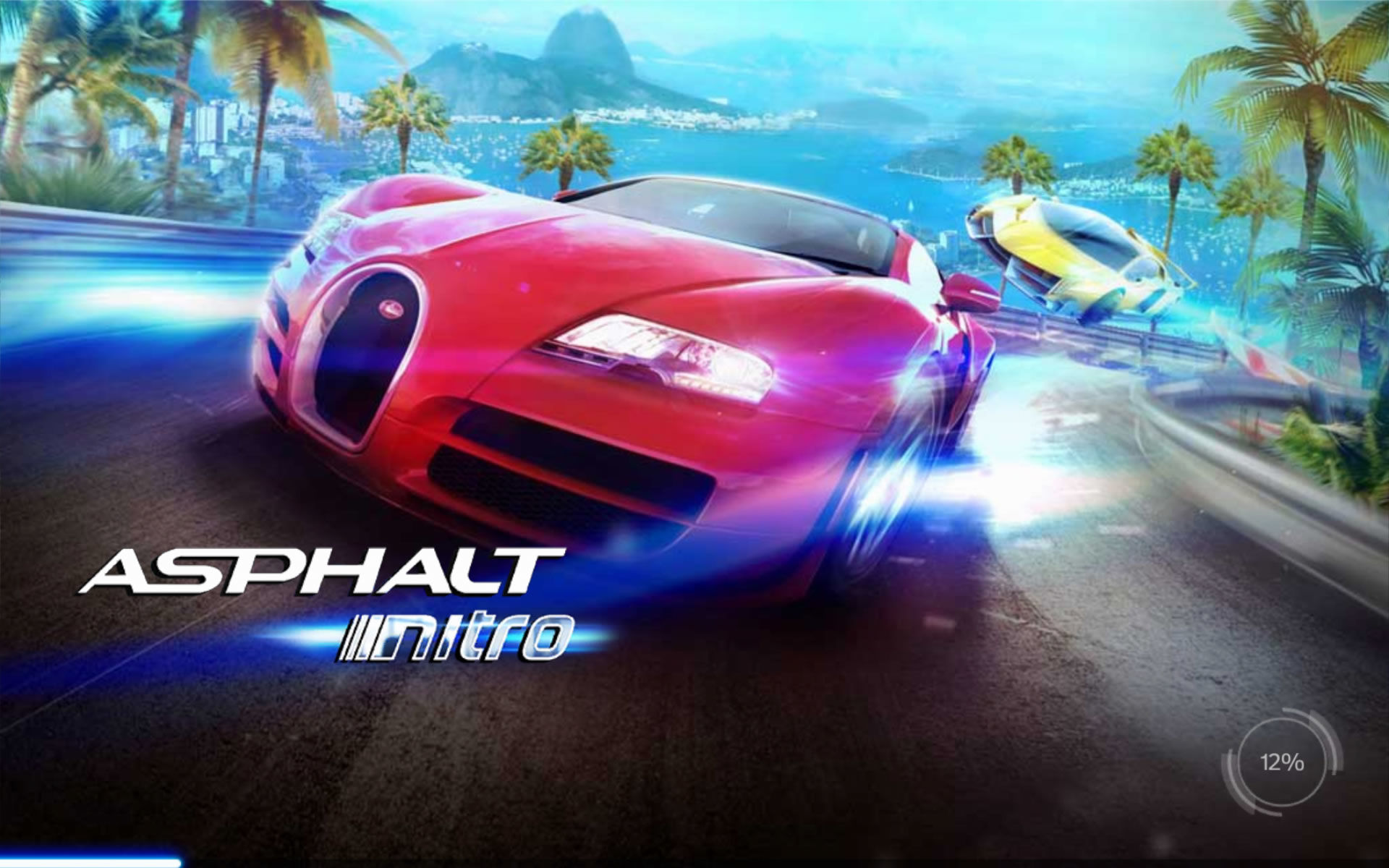 Asphalt: Nitro Android Title / Loading screen