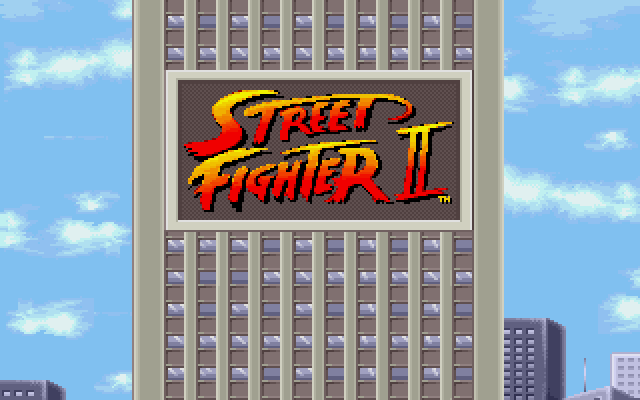 Street Fighter II DOS Intro (2)