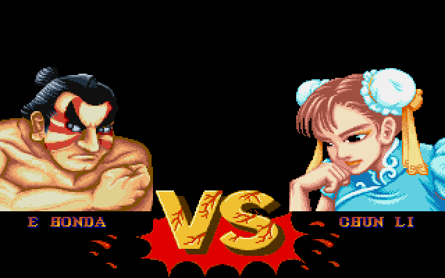Street Fighter Ii The World Warrior Screenshots For Dos Mobygames