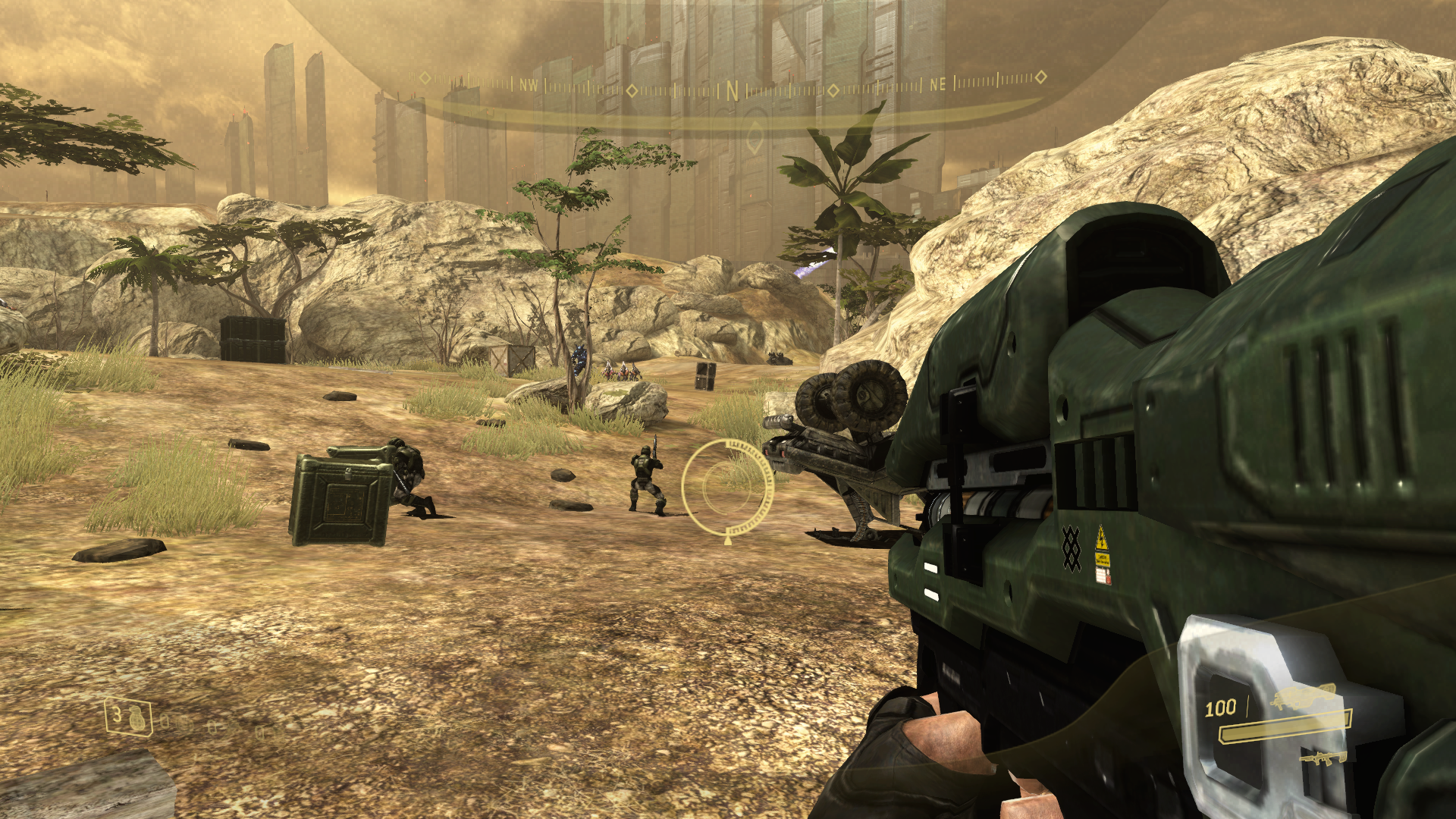 Halo: The Master Chief Collection - Halo 3: ODST Screenshots