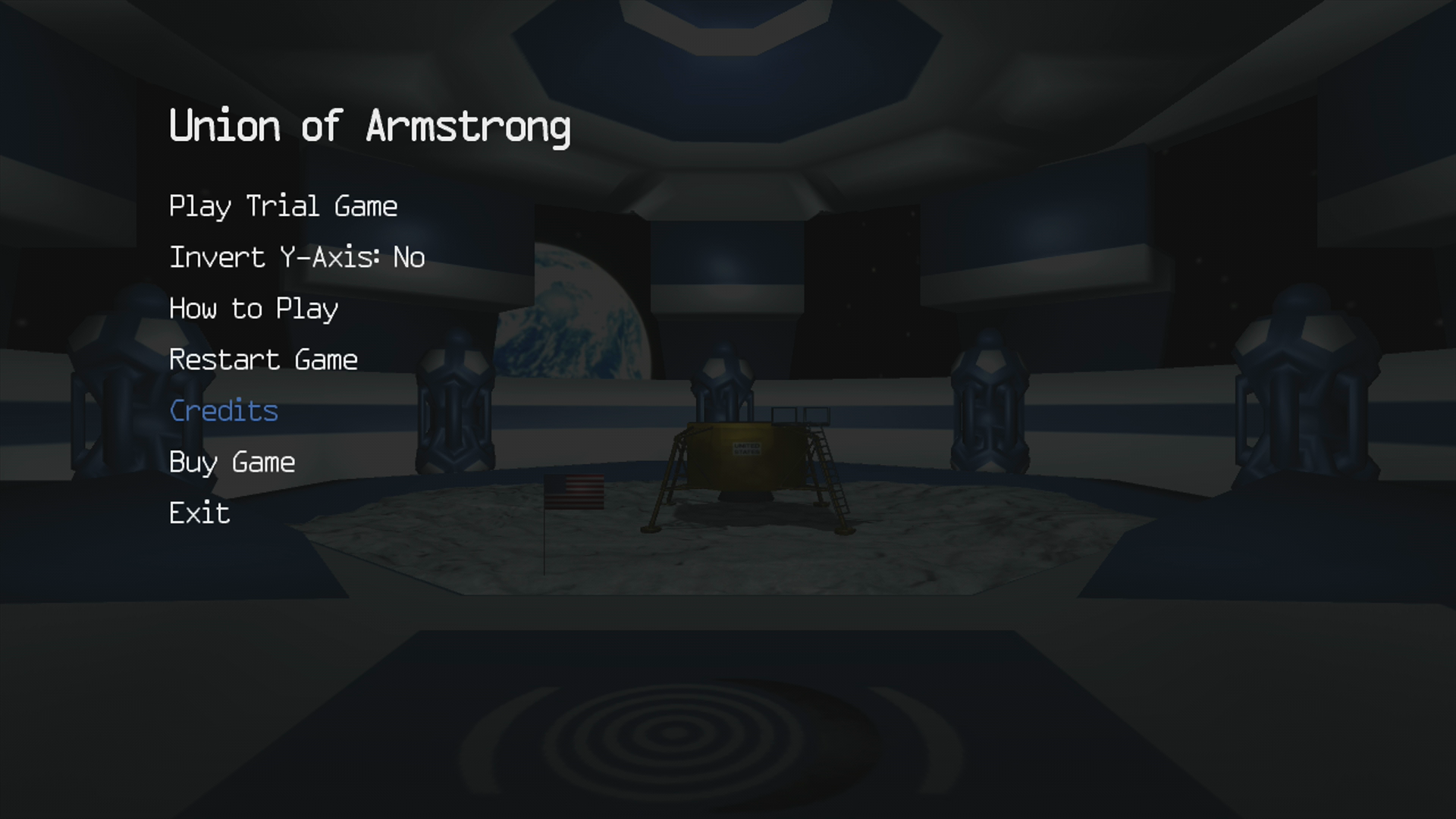 Union of Armstrong Xbox 360 Main menu (Trial version)
