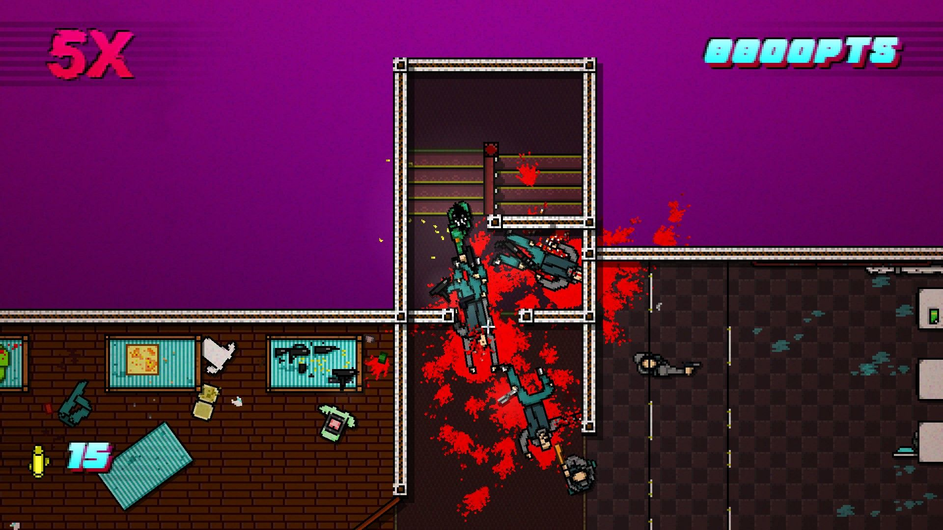 Hotline Miami 2: Wrong Number Windows Building a combo