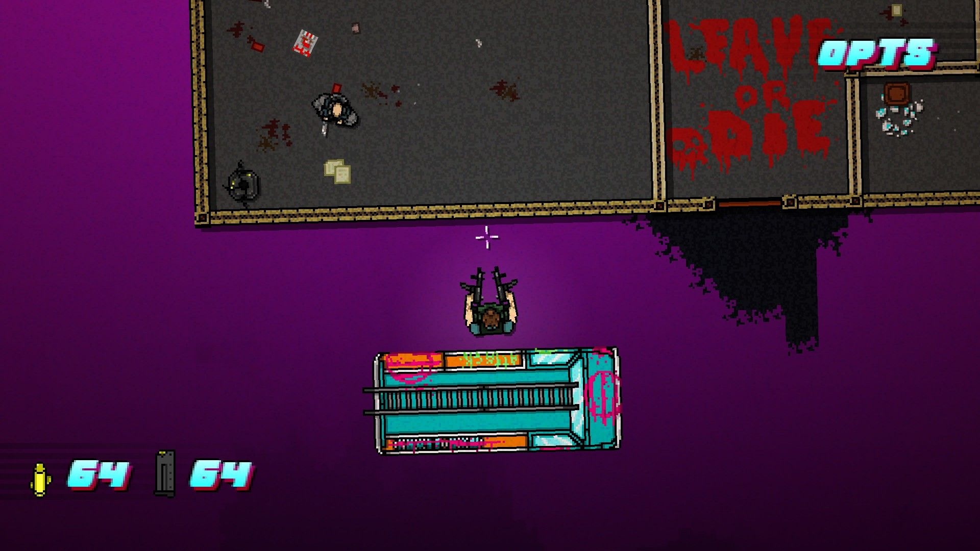 Hotline Miami 2: Wrong Number Windows Twice the gun, double the fun!