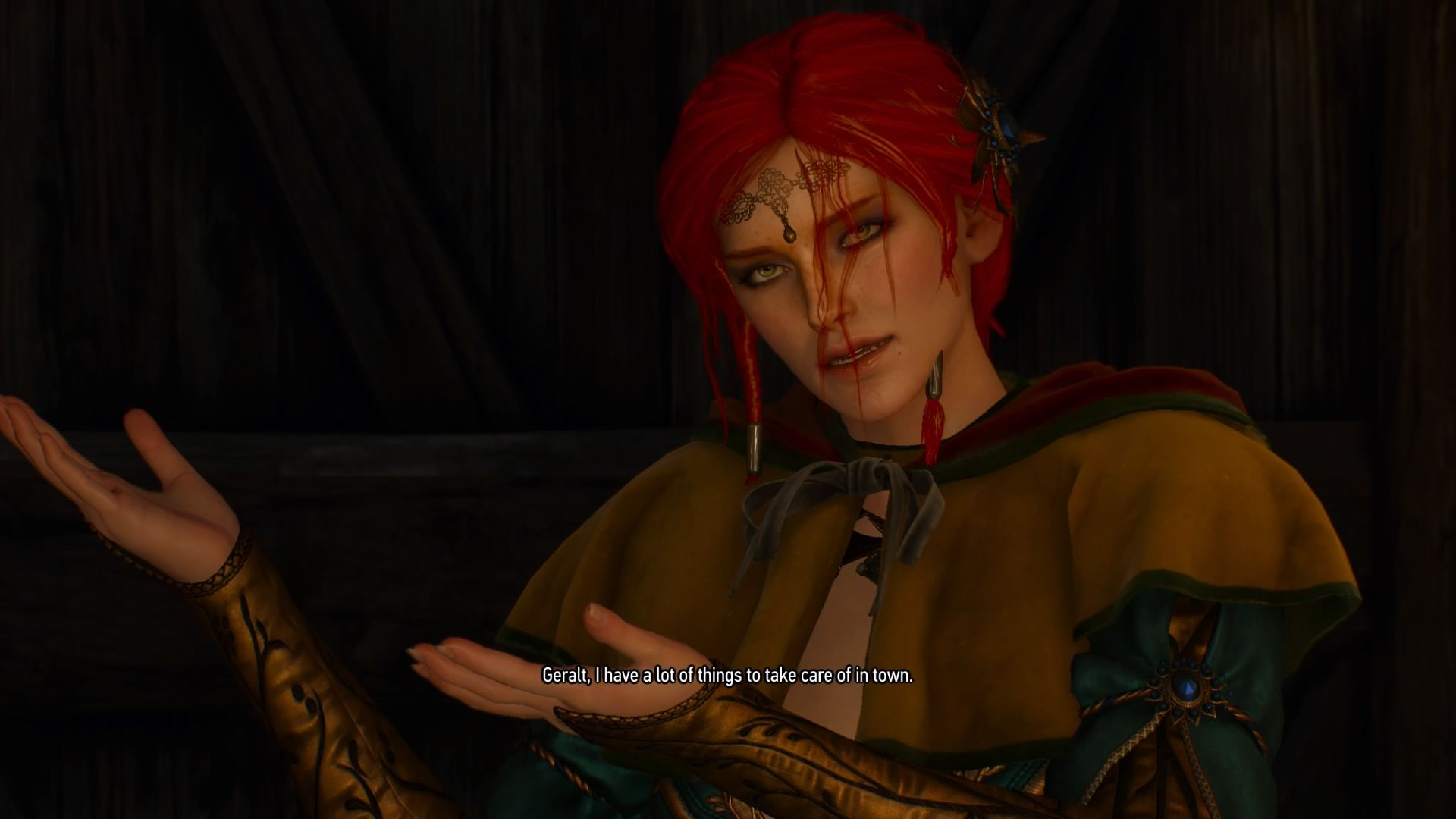 geralt and triss relationship witcher 3