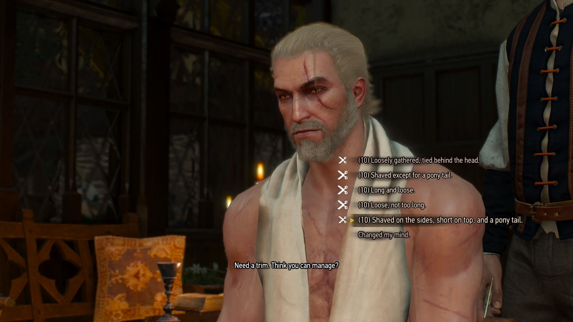 how to turn off the witcher 3 loading cut scene