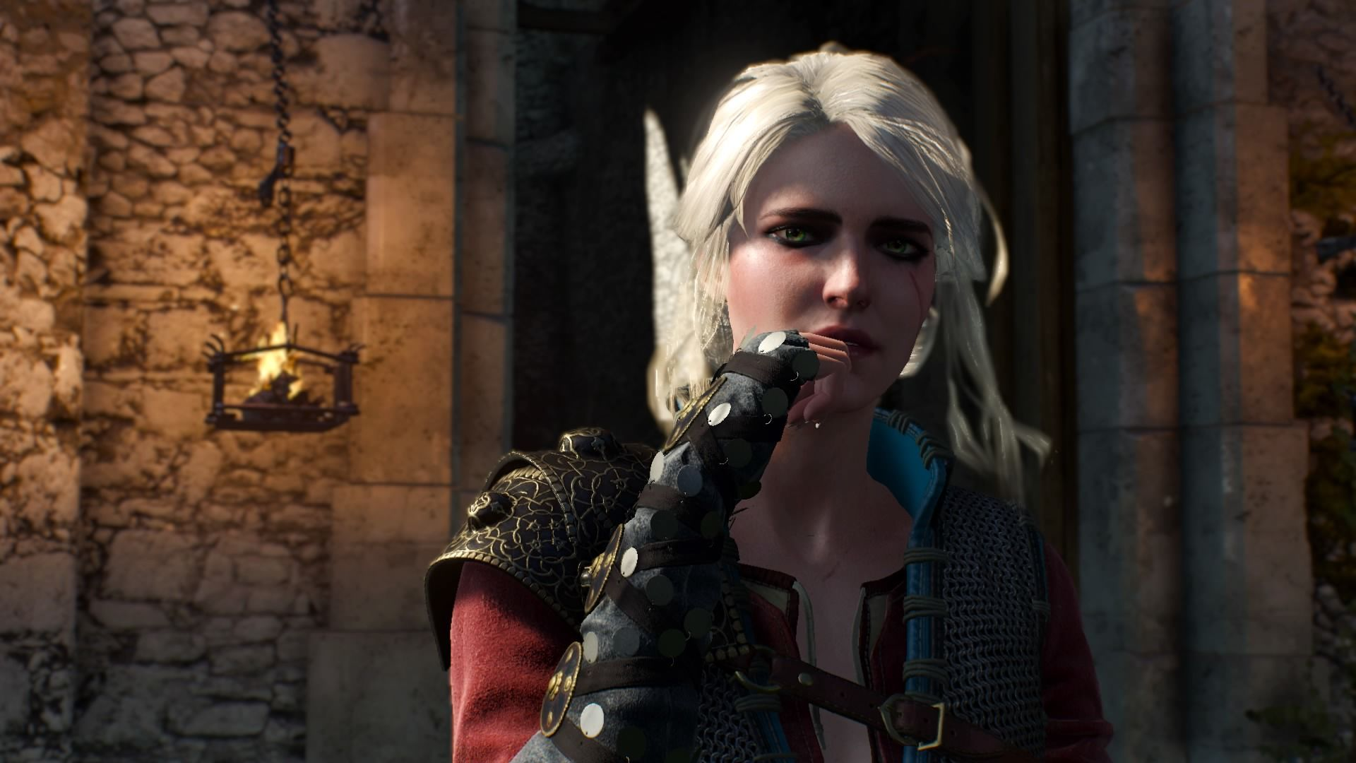 The Witcher 3 Wild Hunt Alternative Look For Ciri