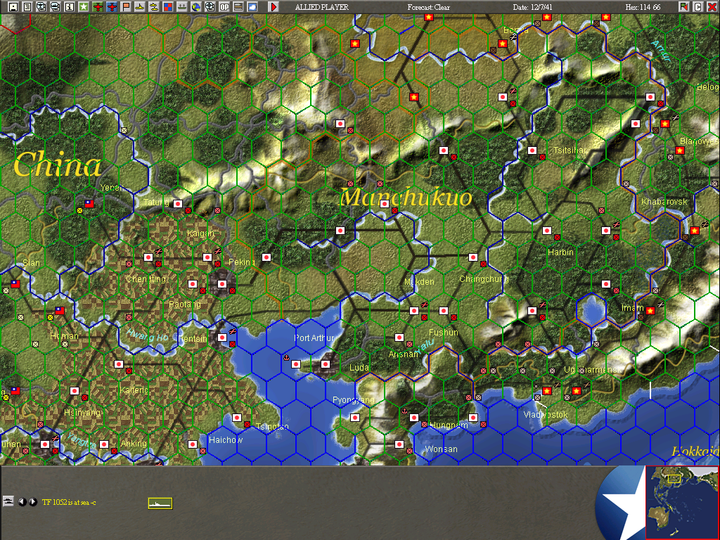 War in the Pacific: The Struggle Against Japan 1941-1945 Screenshots