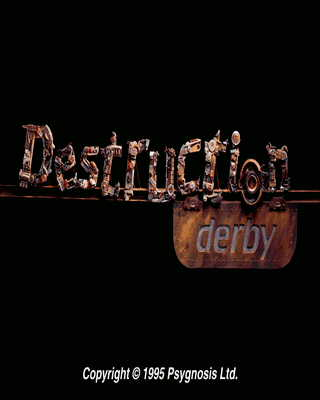 Destruction Derby DOS Title