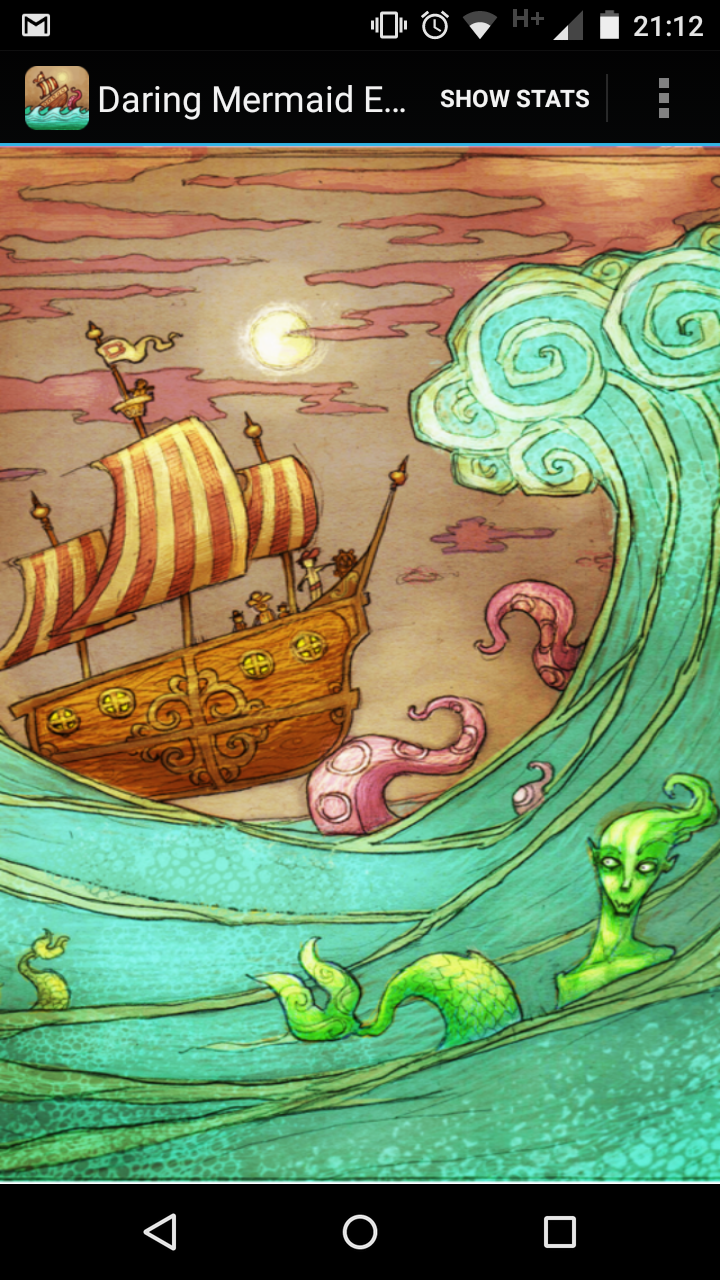 The Daring Mermaid Expedition Android Splash screen