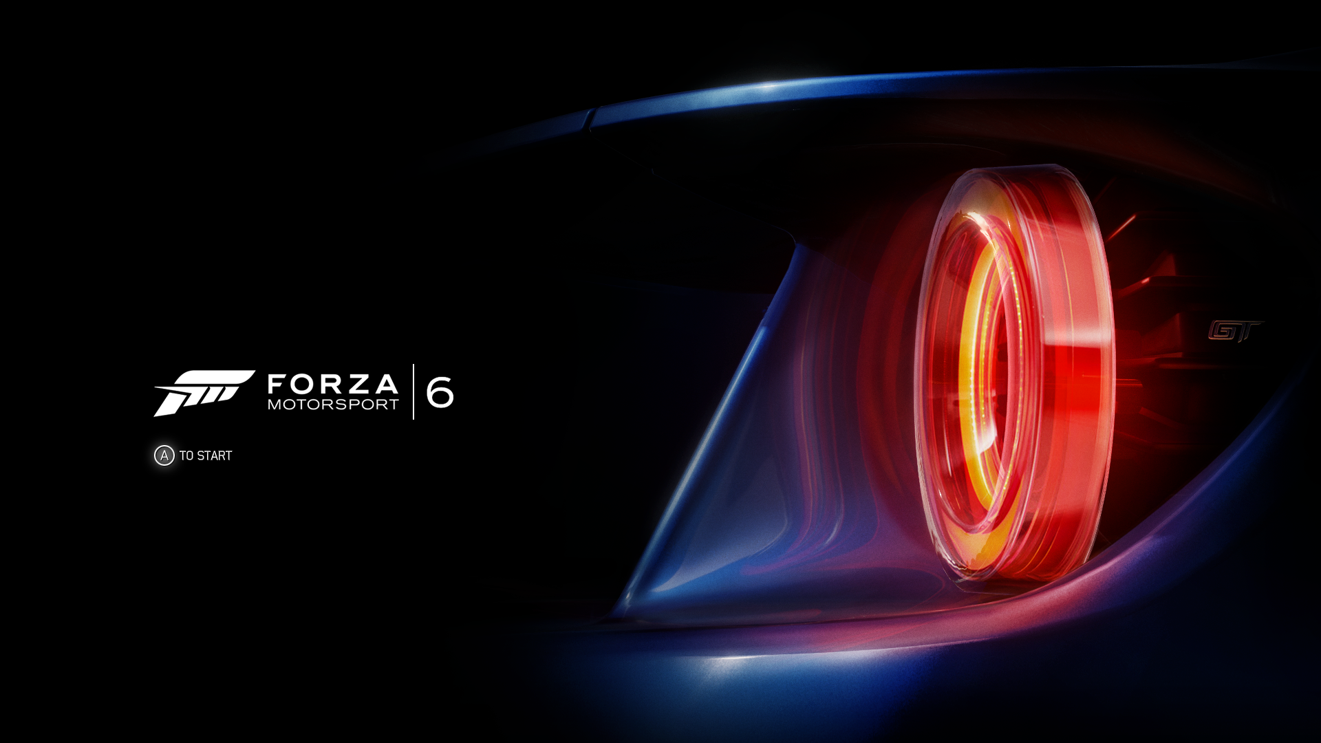 Forza Motorsport 6 Xbox One Title screen