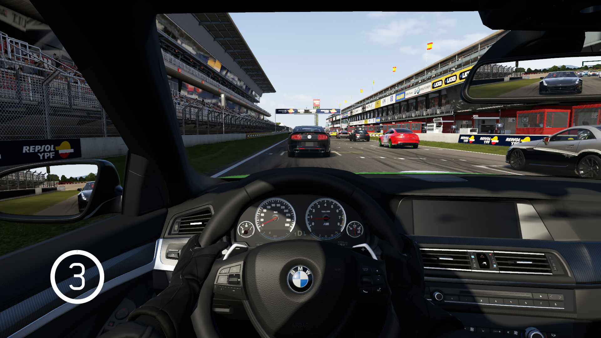 Forza Motorsport 6 Xbox One Waiting In My M5 For The Green Lights