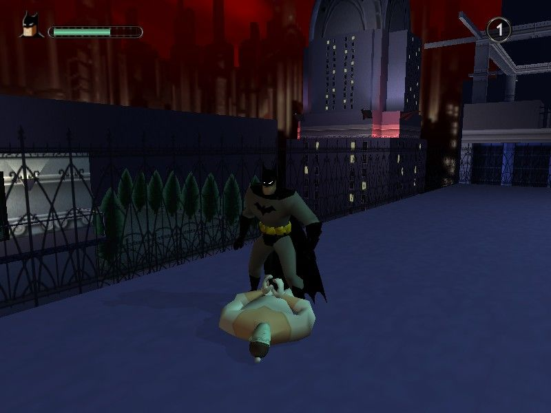 Batman: Vengeance Windows Bad guys must be cuffed or else they recover