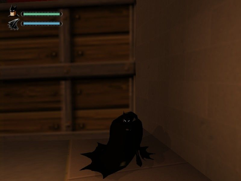 Batman: Vengeance Windows You can hide but i haven't used it, i like to fight