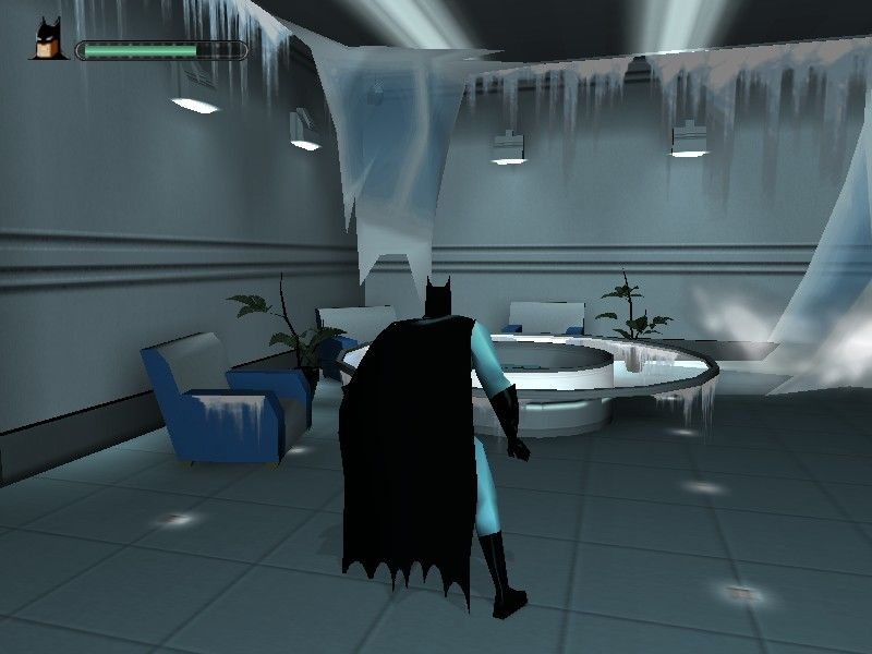 Batman: Vengeance Windows Getting closer to Mr. Freeze