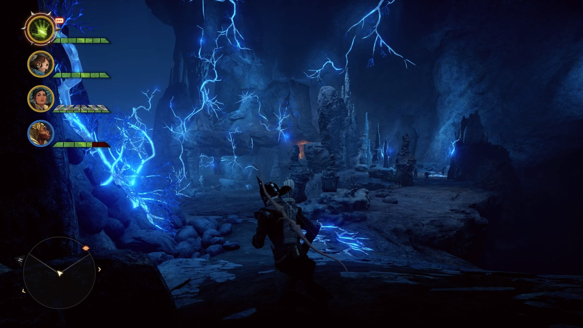 Dragon Age: Inquisition - The Descent PlayStation 4 Branching paths let you avoid enemy if you don't want to fight everyone