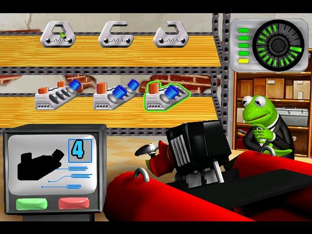 Spy Muppets: License to Croak Windows Missions start with vehicle preparation...