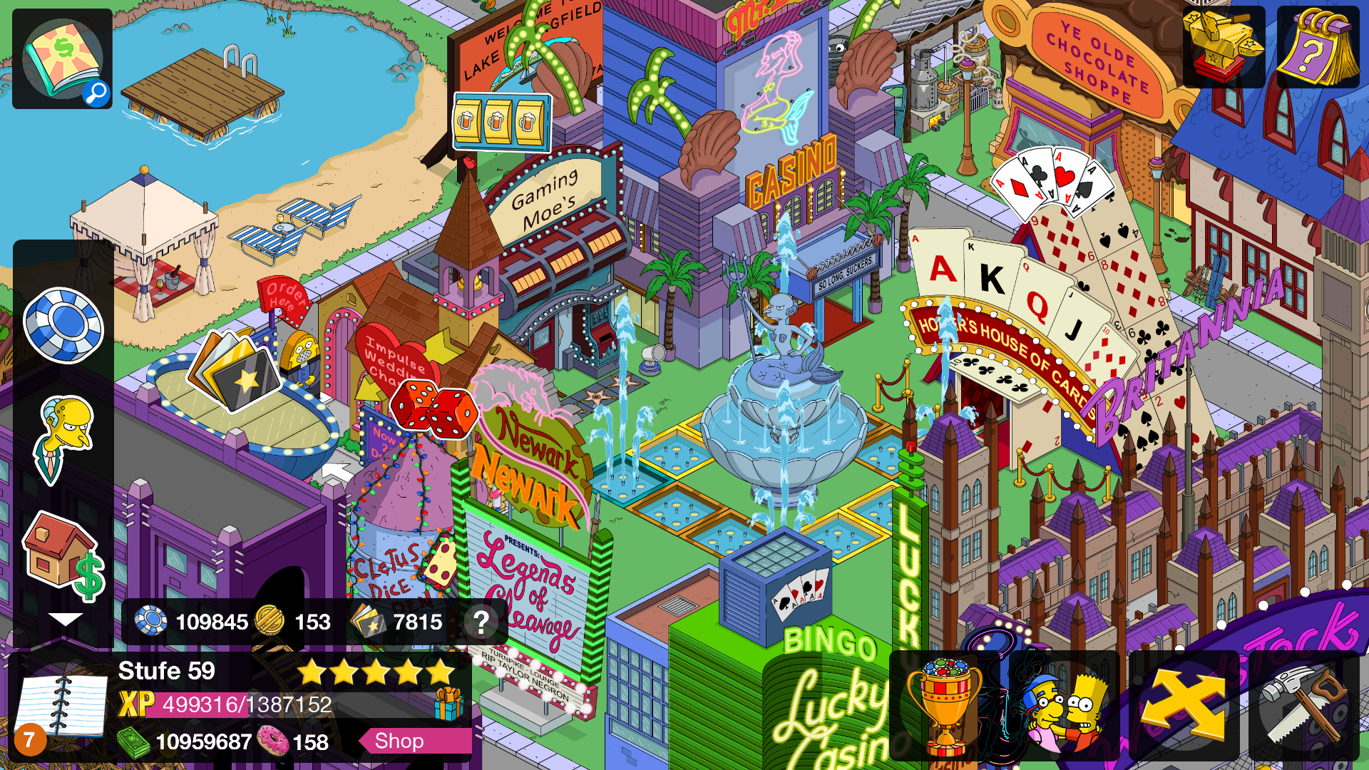 The Simpsons Tapped Out взлом - mods-android.com