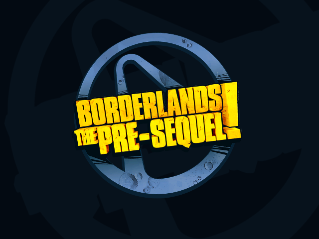 Borderlands: The Pre-Sequel! Windows Title screen