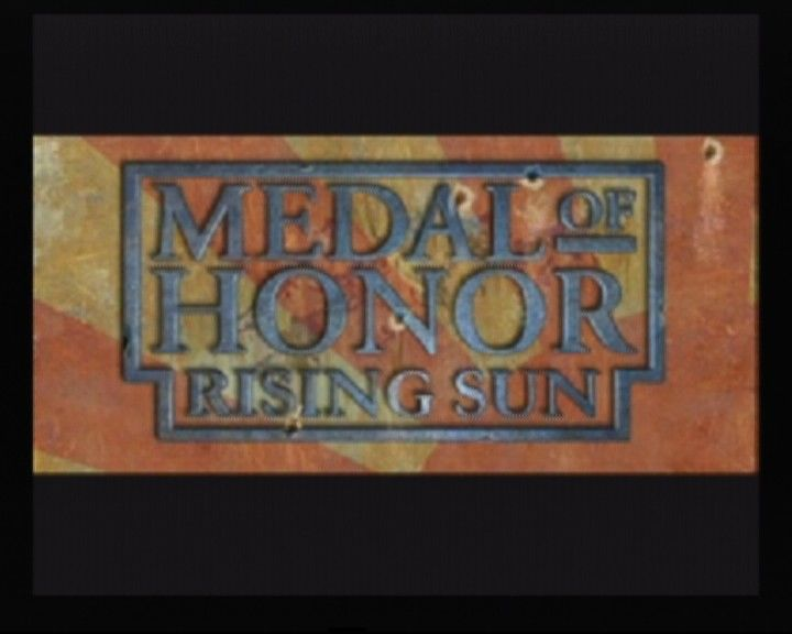 Medal of Honor: Rising Sun GameCube Main Title