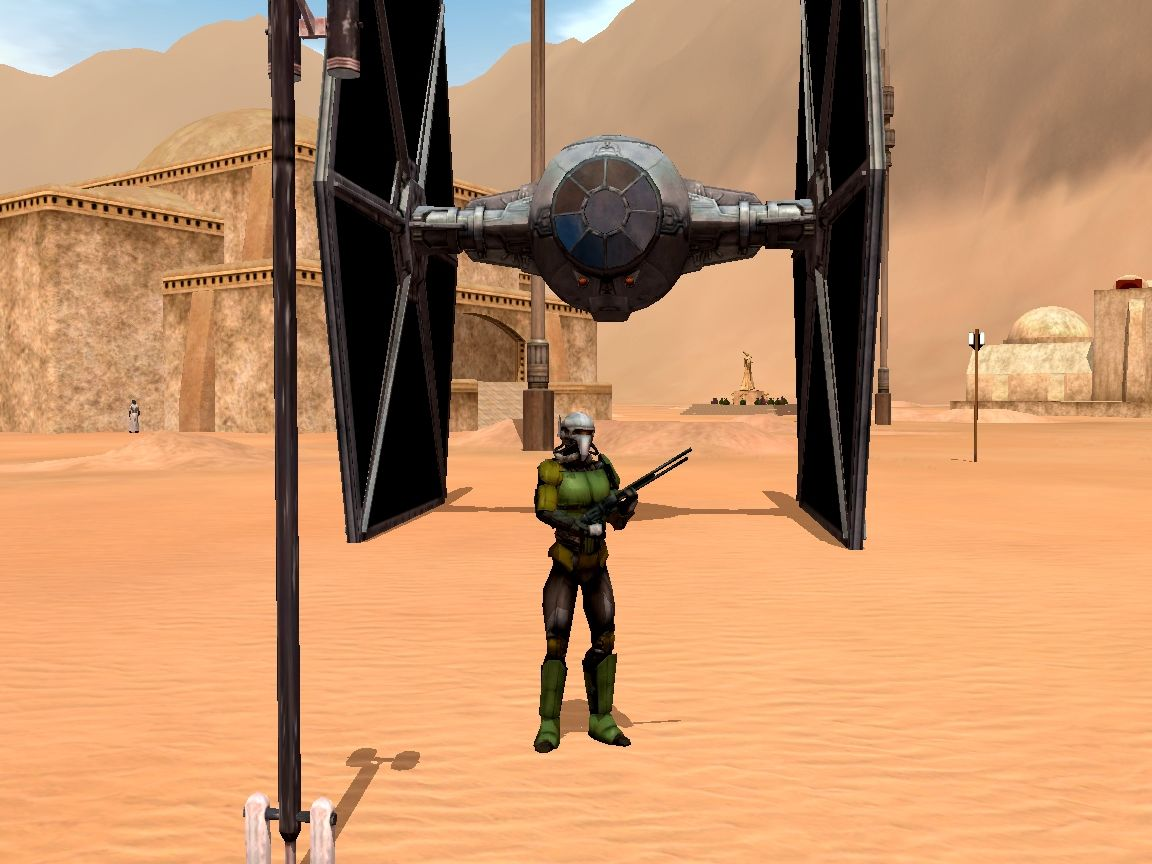 Star Wars: Galaxies - An Empire Divided Windows Rifleman in Tatooine