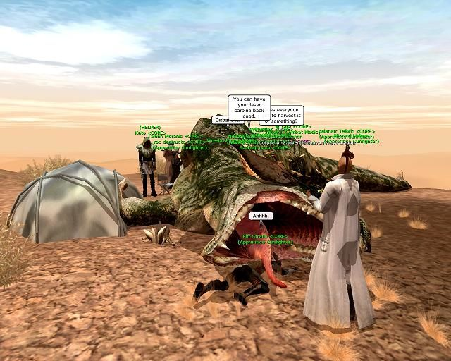 Star Wars: Galaxies - An Empire Divided Windows First Krayt Hunt on Shadowfire