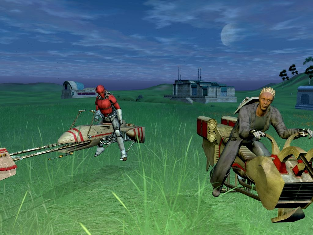 Star Wars: Galaxies - An Empire Divided Windows Swoop Bikes