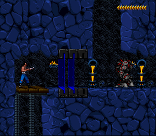 Blackthorne SNES The fourth area - Sarlac's keep