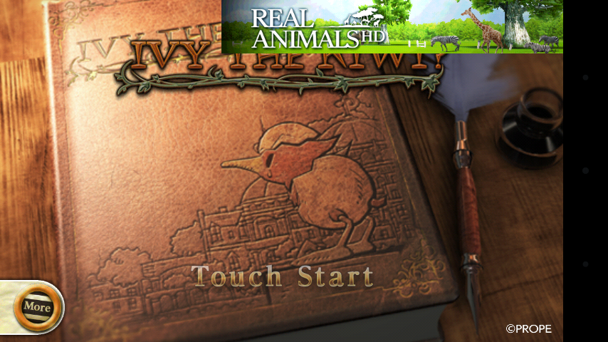 Ivy the Kiwi? Android Title screen