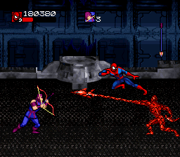 Venom Spider Man Separation Anxiety Screenshots For Snes Mobygames