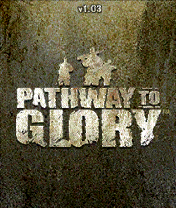 Pathway to Glory N-Gage Title screen.