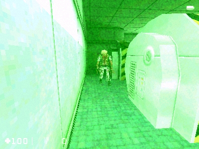 Half-Life: Opposing Force Windows Besides the flashlight in Half-Life you get Nightvision goggles.