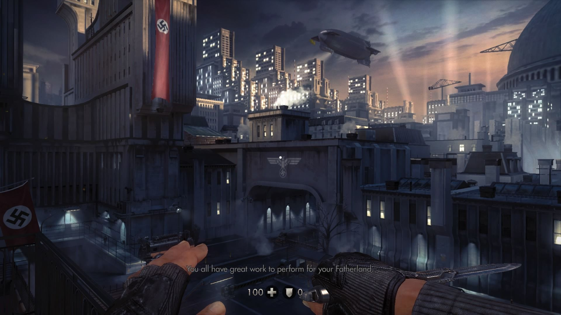 wolfenstein the new order screenshots for playstation 4