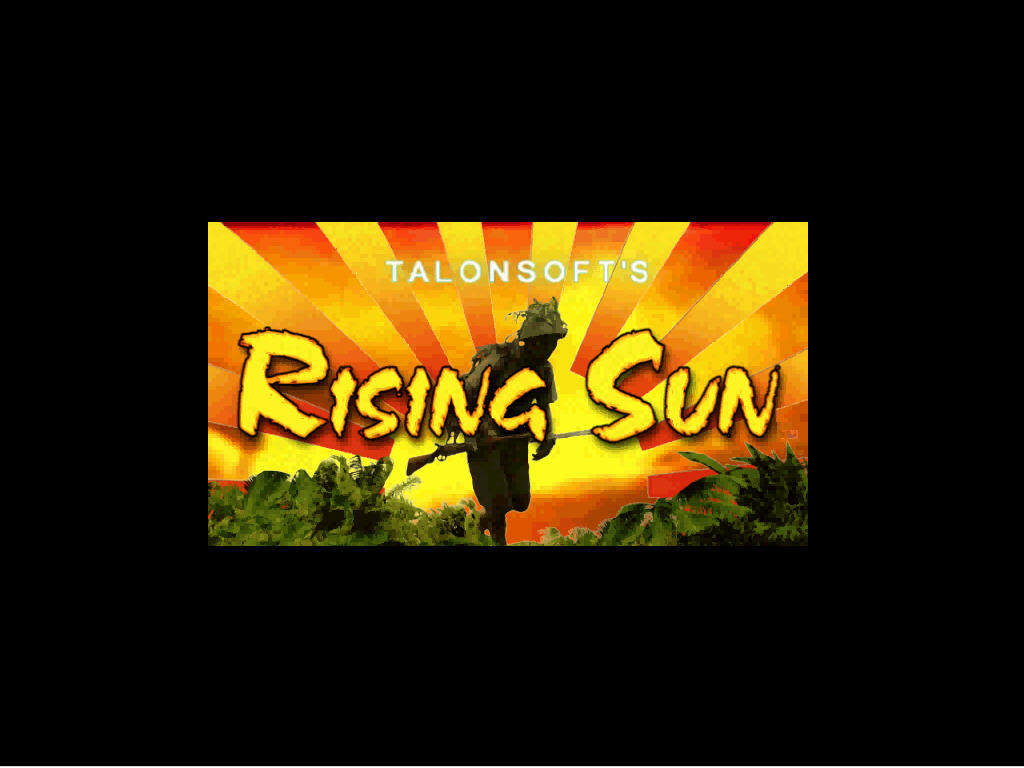 Rising Sun Windows Intro title