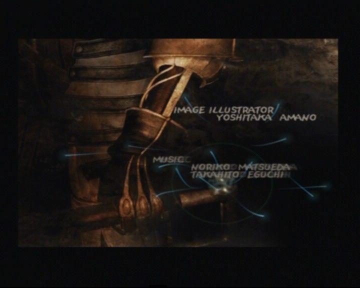 Final Fantasy X-2 PlayStation 2 Opening credits artwork slide-cinematic