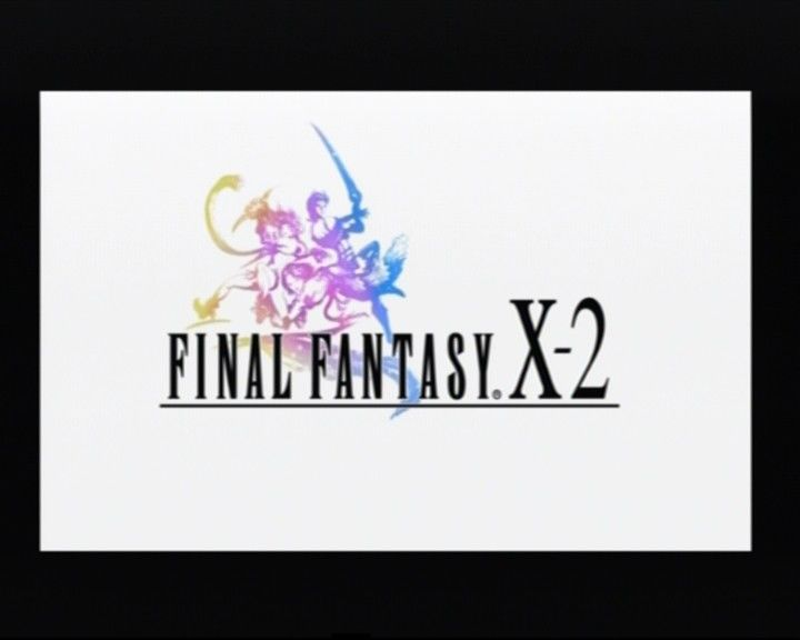 Final Fantasy X-2 PlayStation 2 Main title from the end of opening cinematic