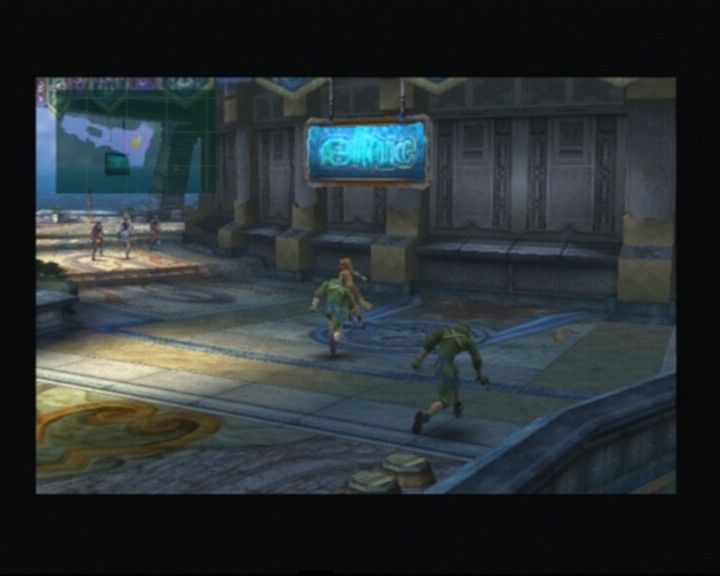 Final Fantasy X-2 PlayStation 2 Some enemies will be visible so if you're evasive enough you can pass on the battle