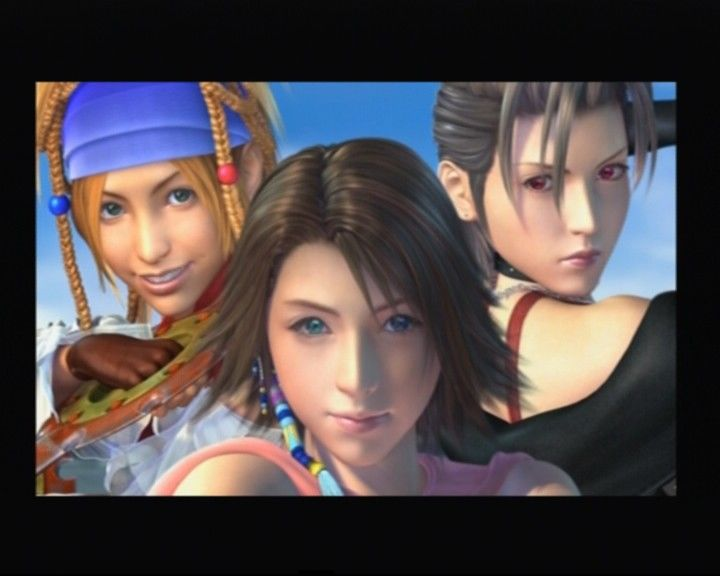 Final Fantasy X-2 PlayStation 2 The trio fantasticus
