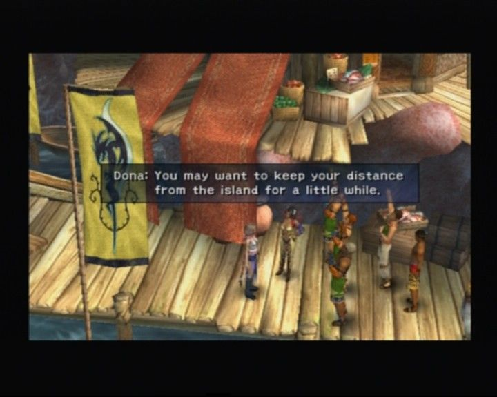 Final Fantasy X-2 PlayStation 2 Visiting the Kilika island, which is now rebuilt from the last Sin's attack