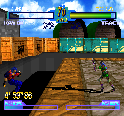 Battle Arena Toshinden 2 Plus Screenshots For Playstation Mobygames