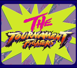 Teenage Mutant Ninja Turtles: Tournament Fighters SNES Opening Screen