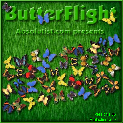 ButterFlight Windows Title screen