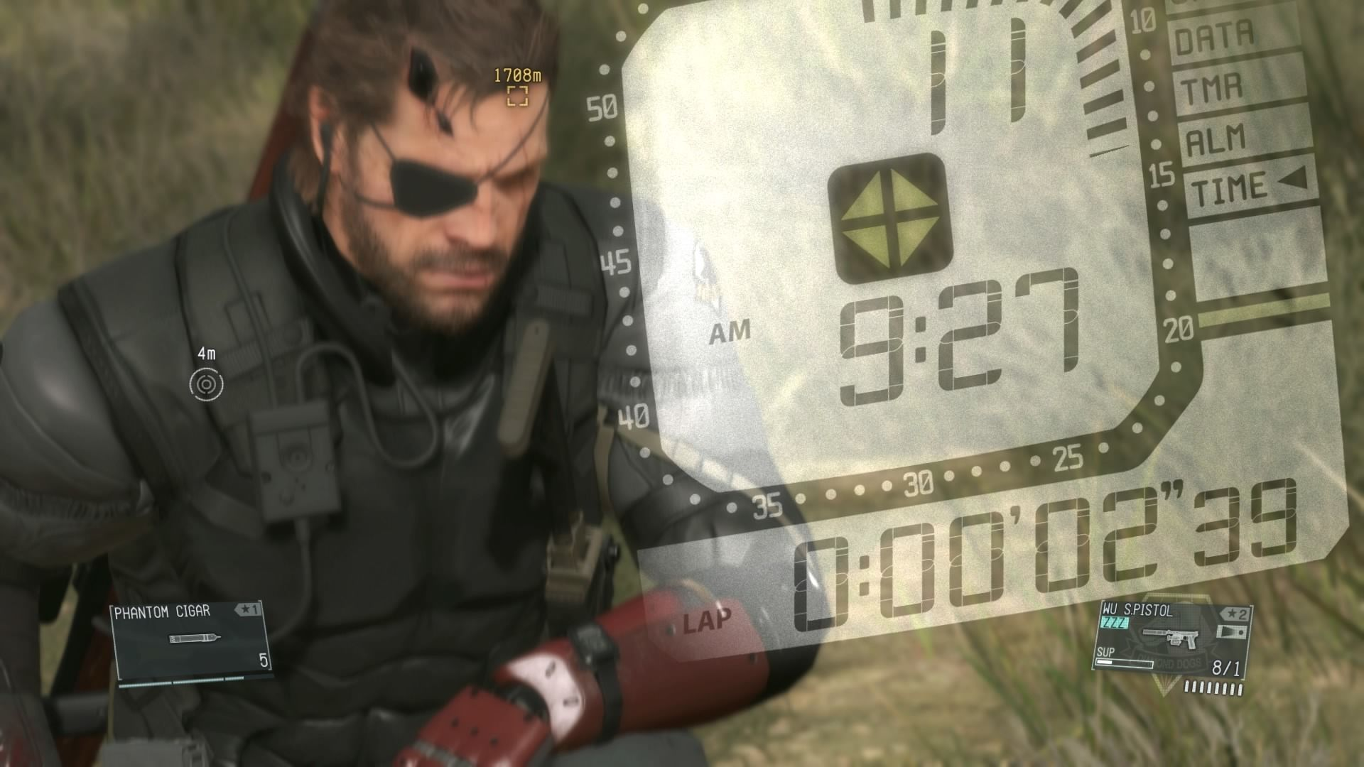 a8f560b210a Screenshot 27 of 50. Metal Gear Solid V  The Phantom Pain PlayStation 4  Phantom cigar lets you fast forward