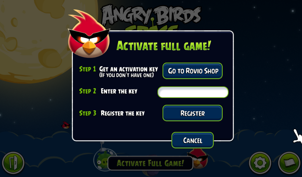 Angry birds space screenshots for windows mobygames game registration altavistaventures Images
